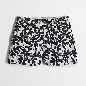 """J.crew Factory 3"""" Floral Pull In Shorts"""